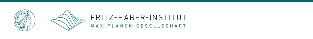 Fritz Haber Institut Der Max Planck Gesellschaft